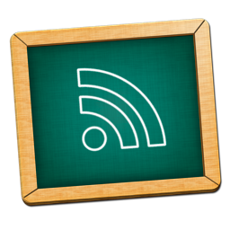 blackboard feed icon